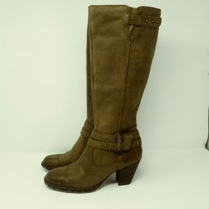 - BORN Brown Knee-High Boots